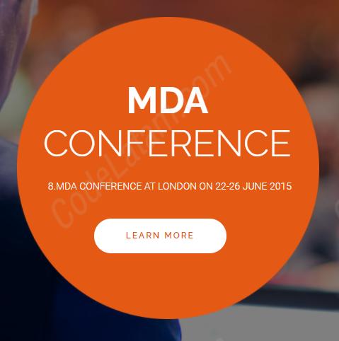 Meetup - Tema de WordPress para eventos de conferencias
